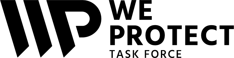 Logo WE PROTECT TASK FORCE